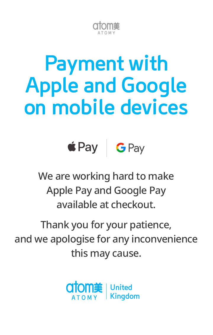 Apply Pay & Google Pay
