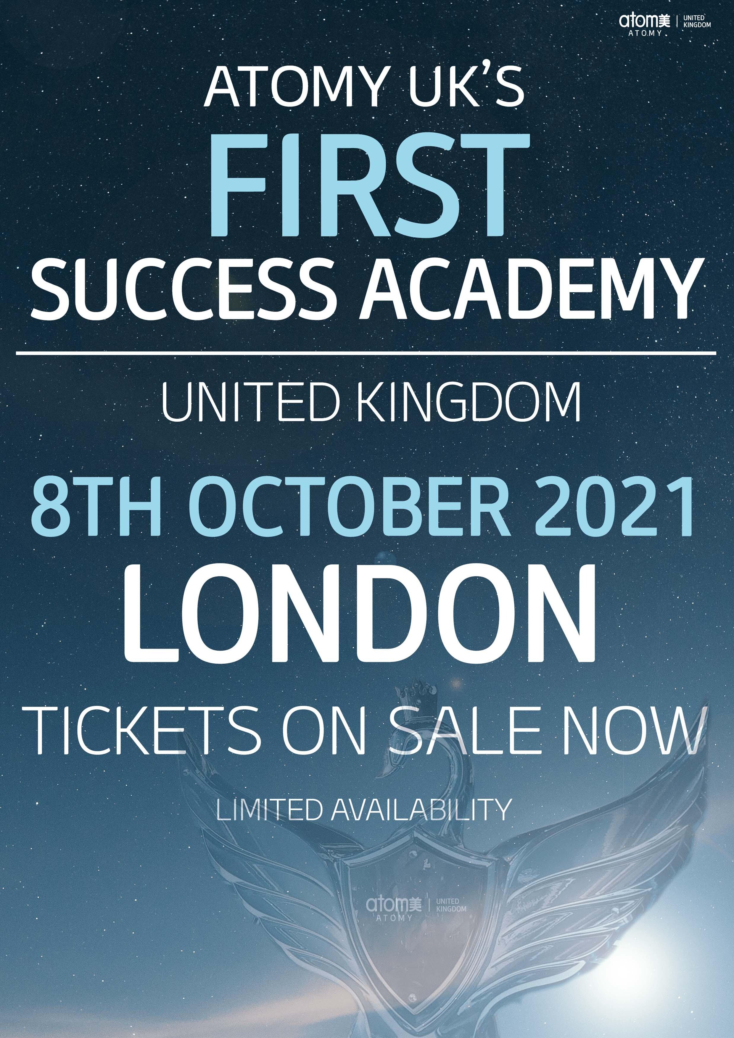 Atomy UK First Ever Success Academy